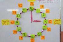 eğitim / dik temel harf yazı  çalışmaları