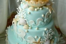 CAKE - sea and ocean themed