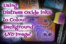 Distress oxides uses