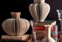 Book Art / A celebration of art of using/reusing books creatively.