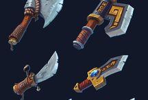 Concept design - Weapons