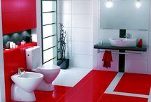 piensa, siente, decora en rojo. / Piensa en rojo, siente en rojo, decora en rojo, y para gustos, colores…….. EL COLOR ROJO. ¿Que opinas del color rojo para decorar?.