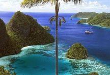 world in island