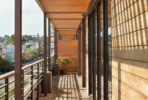 Mission Mixed Use, San Francisco, CA / We adapted this mixed-use building to house the owner's family and their business, a reclaimed woodworking shop, as well as desirable tenant space. We performed a seismic upgrade, added a six-car garage, created the residence and two rental units with detailed finish work, and roughed-in the storefront. Architect: O'Sullivan Architecture - Sharon Risedorph Photography