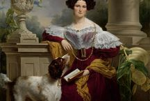 1800-1849 fashion / On this board, we highlight artworks displaying typical clothing worn between 1800 and 1849 as captured by various artists. More artworks can be found on www.europeana.eu.