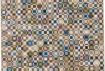 Blue and Brown Quilts