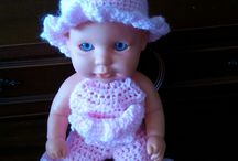 Dolls crocheting