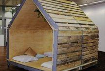 Casetta legno giardino