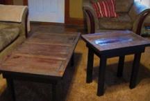 Mesas de puerta de madera ( old wood door tables)