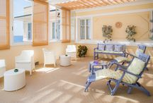 Zona relax / Il Dehor e la splendida Veranda del Beau Sejour Hotel sono l'ideale per trascorrere alcune ore di relax