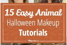 easy halloween makeup