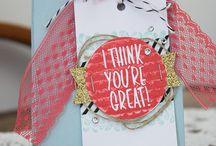 Punchboard für Geschenktüten