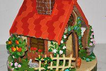 пряничные домик