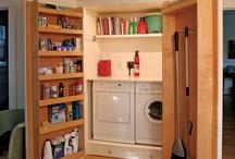 Laundry room ideas / by Kellye Randall