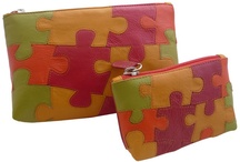 Autism Awareness / $25.00 These beautiful, leather purses are available in various colours and are the universal symbol for Autism