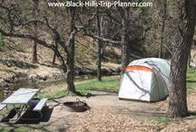 Camping in the Black Hills of South Dakota