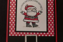 Stamp'in up - Get Your Santa on