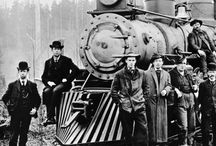 For the Love of Trains / Pictures of trains from the Washington Rural Heritage Collection