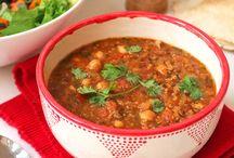 Morocco vegan soup