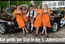 Oktoberfest / Die 5. Jahreszeit in Bayern mit Sixt geniessen.