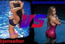 Jen Selter VS / Jen Selter VS Other Fitness Models Girls