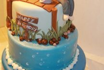 Cake Decorating~Fishing and Hunting Cakes  / by Dena Galley
