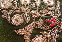 Embroidery - Zardozi..Goldwork / by Arati Ranadive