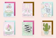 F&F goods / Freckle & Fair greeting cards and prints
