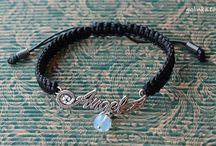 Bracelet Shamballa / handmade, bracelet, shamballa, cord, rękodzieło, biżuteria, bransoletka