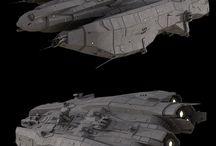 SpaceShips . Aircrafts .
