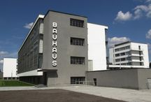 """Bauhaus / Staatliches Bauhaus, commonly known simply as Bauhaus, was an art school in Germany that combined crafts and the fine arts, and was famous for the approach to design that it publicised and taught. It operated from 1919 to 1933. At that time the German term Bauhaus - literally """"house of construction"""" - was understood as meaning """"School of Building"""". http://en.wikipedia.org/wiki/Bauhaus"""