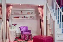 Bedrooms & loft beds / by Melody Montgomery
