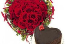 Valentine Cake n Flowers /  Valentine Cake n Flowers for your sweet heart will not only speak of love but it also expresses the deepest feelings and desires of your heart. Red rose symbolizes love and passion. So just give Valentine Cake n Flowers to your beloved from floristindia.com.Dont miss this chance so just Shop for a wide variety of Valentine Cake n Flowers for her those are sure to make her swoon on the day of love. / by Florists In India