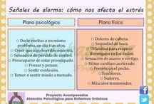 Estrés en la enfermedad / Psicología - Estrés - Relajación - Salud - Pacientes crónicos