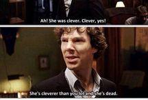 I am SHERlocked / Sherlock Holmes; Sherlock BBC; some SuperWhoLock pins may appear