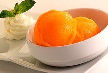 Helado de naranja en TH