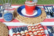 4th of July / Recipes and ideas for Independence Day.