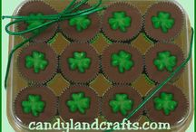 St. Patrick's Day / Ideas for candy, cookies and cupcakes.