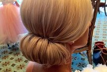 Chignon and other updos