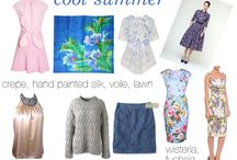 Cool Moonlight Summer Fabrication / print and pattern