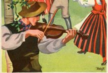 Martta Wendelin Cards. / Wendelin kortteja