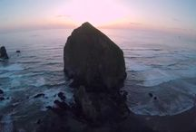 Oregon Coast Aerial Drone Videos and Photography / We create amazing aerial videos and photography.  Our passion is to travel around the Pacific Northwest to capture the scenic beauty of our region.  Our aerial craft is a DJI Phantom drone equipped with a Hero Go Pro 4k Camera.  This allows us to capture amazing aerial vides in amazing 4k quality.