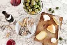 FRENCH CHEESE COURSE / A meal in France would not be complete without a cheese course: a welcome interlude between the main course and dessert.  It is the highlight to nay French gathering and the perfect excuse for another bottle of wine.