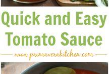 Sauce & Pesto