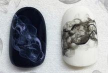 Smoke Nails Inspirations - Manicure z Efektem Dymu