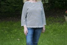 Style - Stripes / Stripes in women's clothing. Bretons and more.