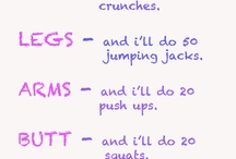 workouts and other healthy stuff
