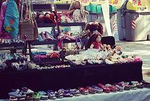 feria artesanal .handemade market . marcher artesanaux. leeloo corner