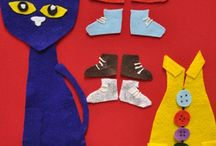 pete the cat / by Katie Prince
