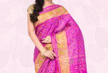 Rajkot Potala / Double Ikat designs in a splash of beautiful colours!